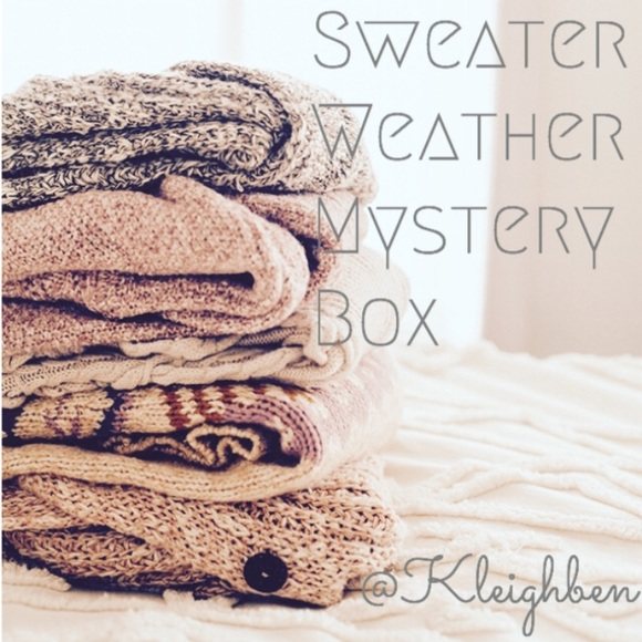 Sweaters - Sweater Weather Mystery Box